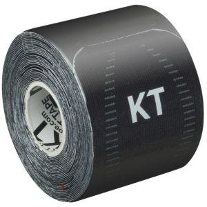 "Taśma Sportowa KT Tape Consumer Synthetic Pro Precut 10"" Jet Black"