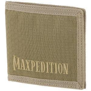 Portfel Maxpedition Bi Fold Tan