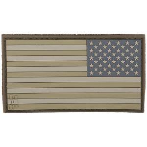 Naszywka Maxpedition Odwrócona Flaga USA Duża (Arid)