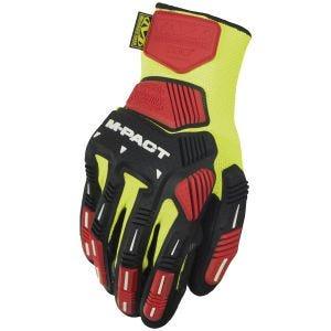 Rękawice Taktyczne Mechanix Wear The Safety M-Pact Knit CR3A3 Hi-Viz Yellow