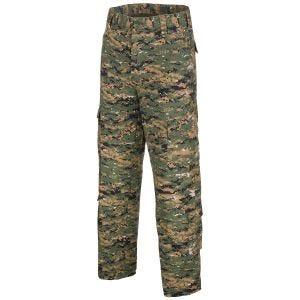 Spodnie MFH ACU Combat Ripstop Digital Woodland