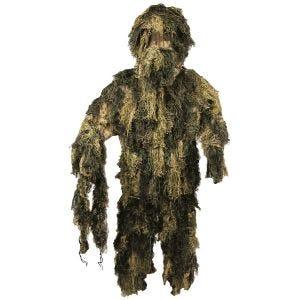 Strój Maskujący MFH Camouflage Ghillie Digital Woodland