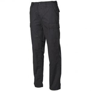 Spodnie MFH BDU Combat Ripstop Czarne