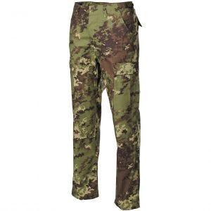Spodnie MFH BDU Combat Ripstop Vegetato Woodland
