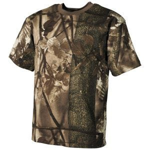Koszulka T-shirt MFH Hunter Brown