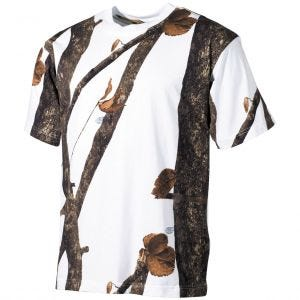 Koszulka T-shirt MFH Hunter Snow