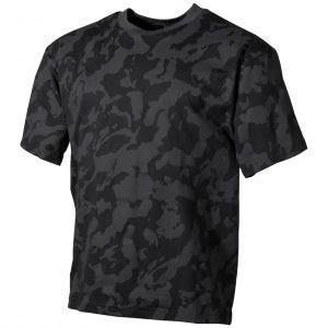 Koszulka T-shirt MFH Night Camo