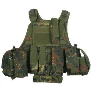Kamizelka Taktyczna MFH Ranger MOLLE Flecktarn
