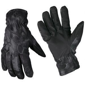 Rękawice Zimowe Mil-Tec Softshell Thinsulate Mandra Night