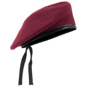 Beret Wojskowy Mil-Tec Czerwony