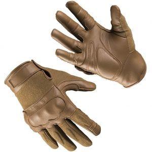 Rękawice Taktyczne Mil-Tec Tactical Skóra / Kevlar Dark Coyote
