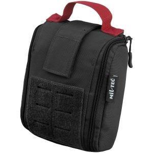 Kieszeń Uniwersalna Mil-Tec Individual First Aid Kit Zestaw 25 szt. Laser Cut Czarna