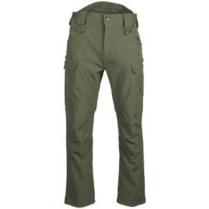 Spodnie Mil-Tec Assault Soft Shell Ranger Green