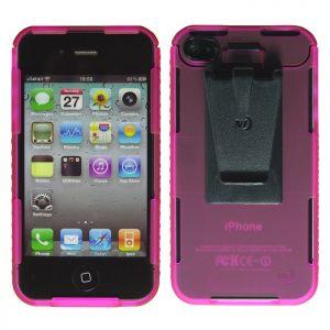Etui z Klipsem Mocującym Nite Ize do iPhone 4/4S Różowe