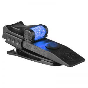 Mini Latarka z Klipsem Mocującym QuiqLite Pro Biały / Niebieki LED