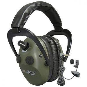 Elektroniczne Ochronniki Słuchu SpyPoint EEM4-25 Aktywne Zielone