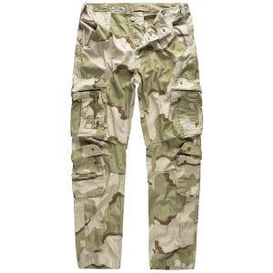 Spodnie Surplus Airborne Slimmy 3-Colour Desert