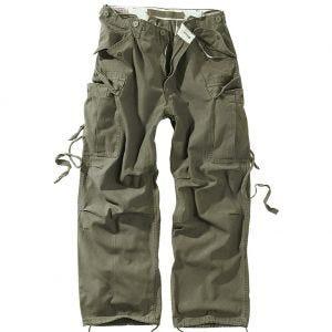 Spodnie Surplus Vintage Fatigues Oliwkowe