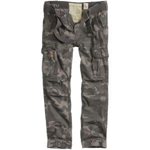 Spodnie Surplus Premium Slimmy Black Camo