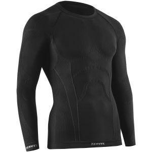 Koszulka Termoaktywna Tervel Comfortline Długi Rękaw Czarna