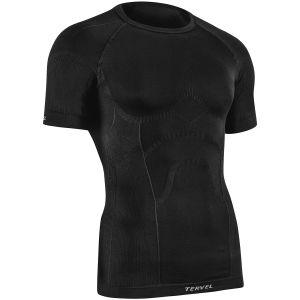 Koszulka Termoaktywna Tervel Comfortline Krótki Rękaw Czarna