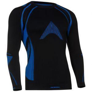 Koszulka Termoaktywna Tervel Optiline MOD-02 Długi Rękaw Czarno-Niebieska