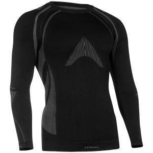 Koszulka Termoaktywna Tervel Optiline MOD-02 Długi Rękaw Czarno-Szara