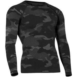 Koszulka Termoaktywna Tervel Optiline Tactical Długi Rękaw Camo Black