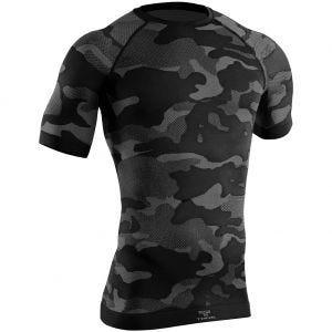 Koszulka Termoaktywna Tervel Optiline Tactical Krótki Rękaw Camo Black