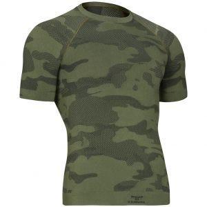 Koszulka Termoaktywna Tervel Optiline Light Tactical Krótki Rękaw Camo Green