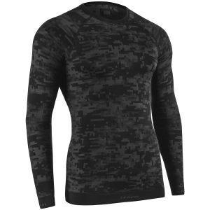 Koszulka Termoaktywna Tervel Optiline Digital Długi Rękaw Czarna