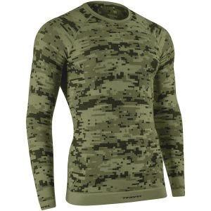 Koszulka Termoaktywna Tervel Optiline Digital Długi Rękaw Military