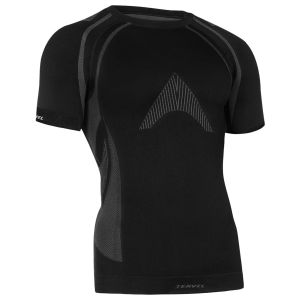 Koszulka Termoaktywna Tervel Optiline MOD-02 Krótki Rękaw Czarno-Szara