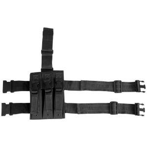 Potrójna Ładownica Udowa Viper na Magazynki MP5 Czarna
