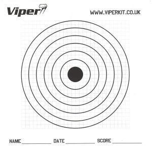 Tarcze Strzelnicze Viper Pro 17cm Papierowe 100 szt.