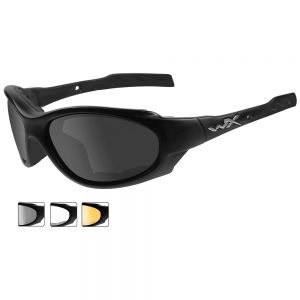 Okulary Taktyczne Wiley X XL-1 Advanced - Zestaw 3 Wymiennych Wizjerów - Czarne