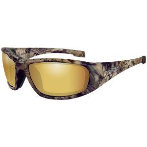 Okulary Taktyczne Wiley X WX Boss - Polaryzacyjne - Kryptek Highlander
