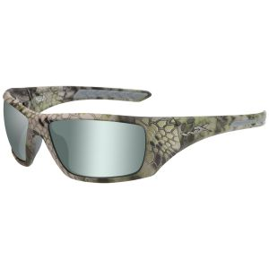 Okulary Taktyczne Wiley X WX Nash - Polarized Green Platinum Flash / Kryptek Altitude