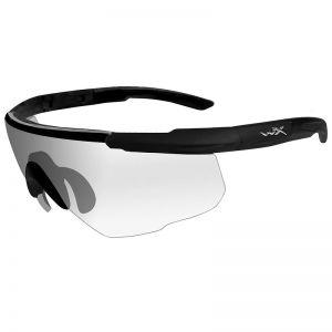Okulary Taktyczne Wiley X Saber Advanced - Clear - Czarne