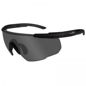 Okulary Taktyczne Wiley X Saber Advanced - Smoke - Czarne