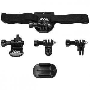 Zestaw Montażowy do Kasku Xcel Helmet Kit Czarny