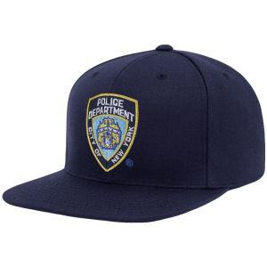 Czapka z Prostym Daszkiem YP NYPD Emblem Navy