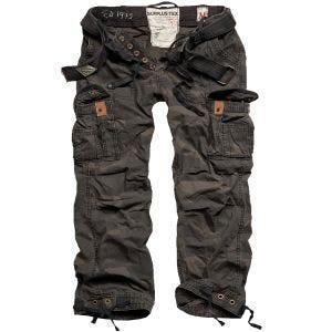 Spodnie Surplus Premium Vintage Black Camo