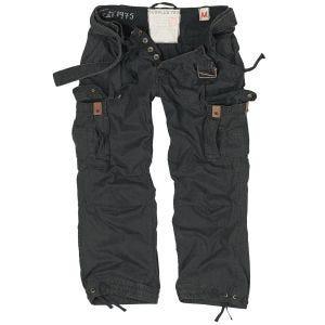 Spodnie Surplus Premium Vintage Czarne