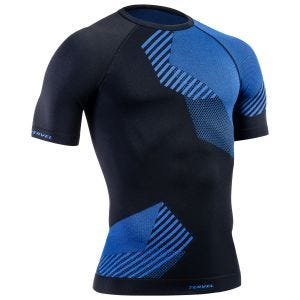 Koszulka Termoaktywna Tervel Optiline Krótki Rękaw Czarno-Niebieska