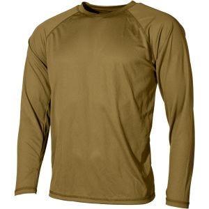 Koszulka Termoaktywna MFH US Level I Gen III Coyote Tan