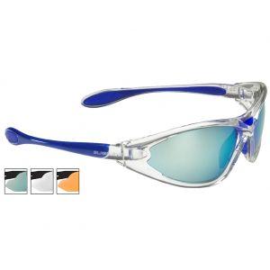 Okulary Taktyczne Swiss Eye Constance BW - Zestaw 3 Wymiennych Wizjerów - Niebieskie