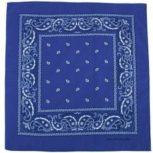 Chusta MFH Bandana Royal White