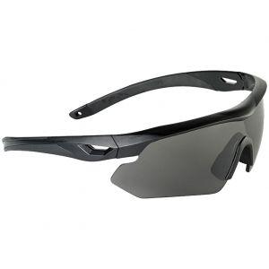 Okulary Taktyczne Swiss Eye Nighthawk - Zestaw 3 Wymiennych Wizjerów - Czarne