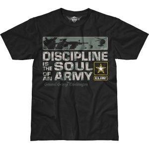 Koszulka T-shirt 7.62 Design Army Discipline Battlespace Czarna